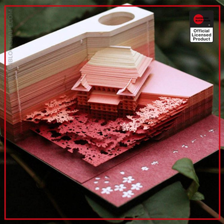 DIY Scrapbooking Omoshiroi Block 3D Convenience Stickers Papers Card Craft Japan s Creative Stereoscopic Sticky Note 1 - Omoshiroi Block Shape