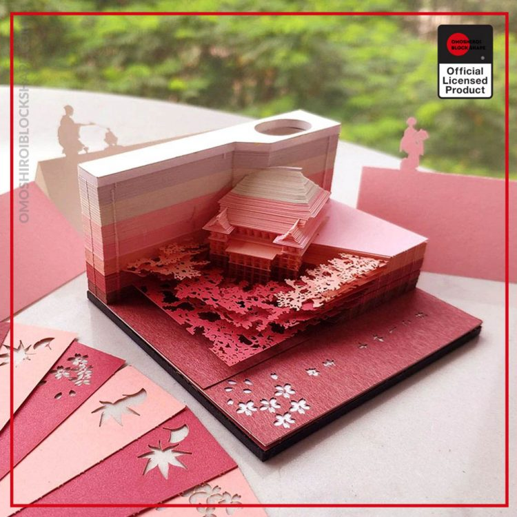 DIY Scrapbooking Omoshiroi Block 3D Convenience Stickers Papers Card Craft Japan s Creative Stereoscopic Sticky Note 2 - Omoshiroi Block Shape